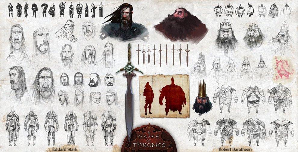 Дизайн персонажей в стиле «Храброй сердцем»