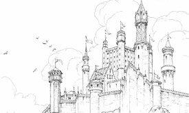 Красный замок (илл. Леви Пинфолд)