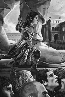 Арья на казни Неда