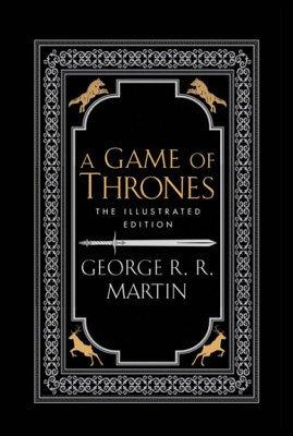 Обложка юбилейной Игры престолов (британская версия)