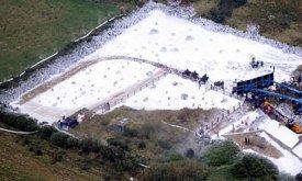 Съемки на фальшивом снегу (26 октября)