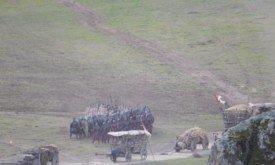 Пехота Ланнистеров с обозом