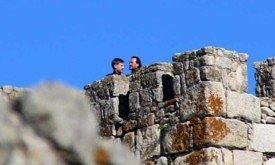 Съемки 15 ноября, Джейме и Бронн на башне