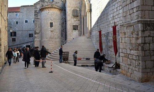 Съемки 15 декабря в Дубровнике