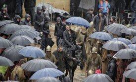 Эурон под зонтиком (Касерес, 14 декабря)