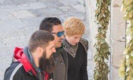 Съемки в Дубровнике (14 декабря 2016), новый костюм Серсеи