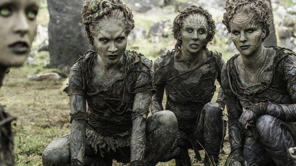 Дети леса в сериале