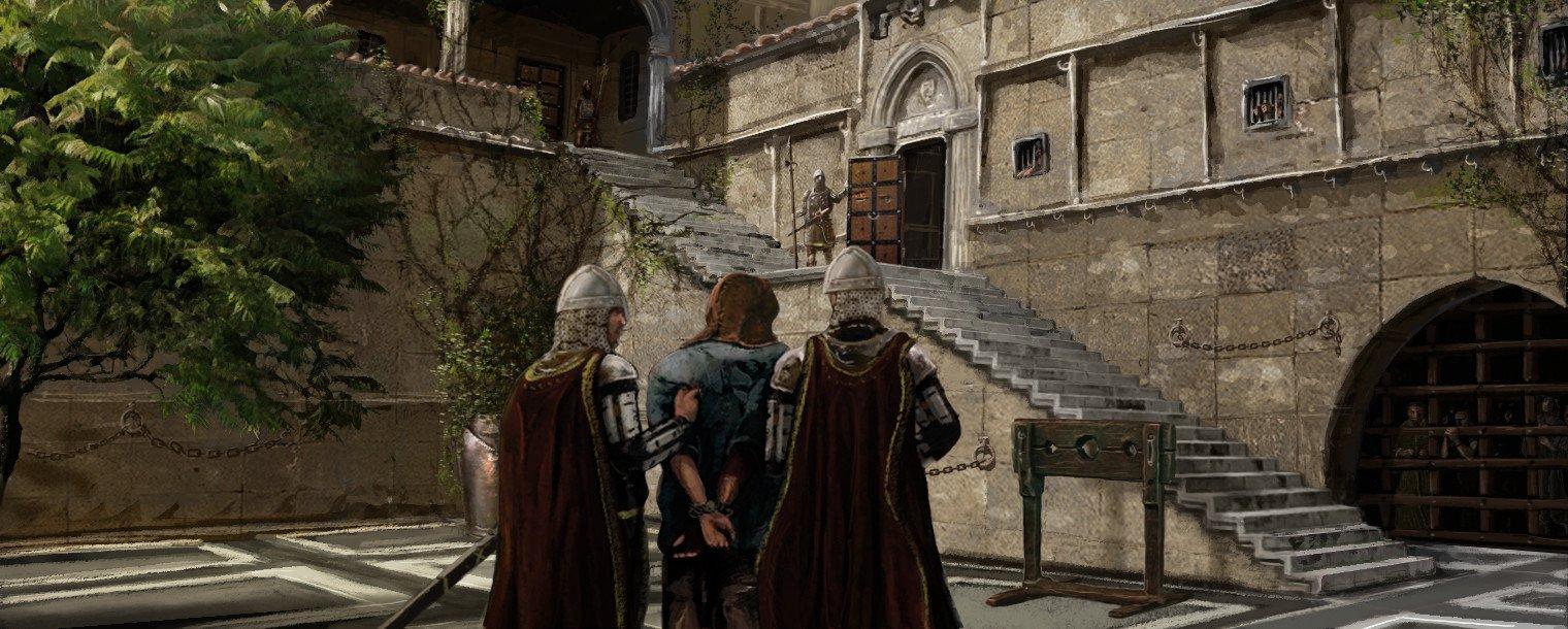 Иллюстрации Линкольна Реналла к игре Game Of Thrones