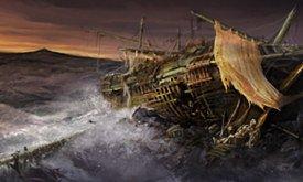 Потонувший корабль