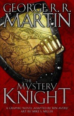 Обложка комикса «Таинственный рыцарь»