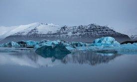 Йёкюльсаурлоун зимой, фото Томас Хитон (Thomas Heaton)