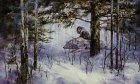Джон с Призраком (декабрь)