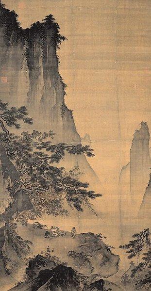 Созерцание Луны, худ. Ма Юань, начало XIII века