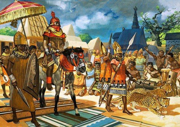 Империя Мали, худ. Ангус МакБрайд
