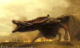 Game of Thrones TK Season 7, Episode TK Air Date: TK Emilia Clark as Daenerys Targaryen and a Dragon
