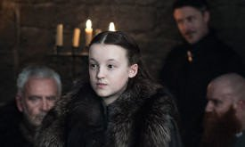 Лианна на совете короля Севера