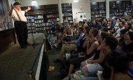 Джордж Мартин на встрече с читателями