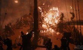 Она же при лучшем освещении то ли от пожаров, то ли от пламени драконов