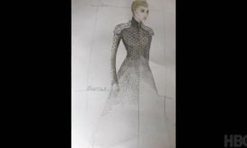 Дизайн костюма Серсеи
