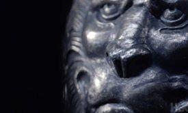 Декор доспеха (?) со львами