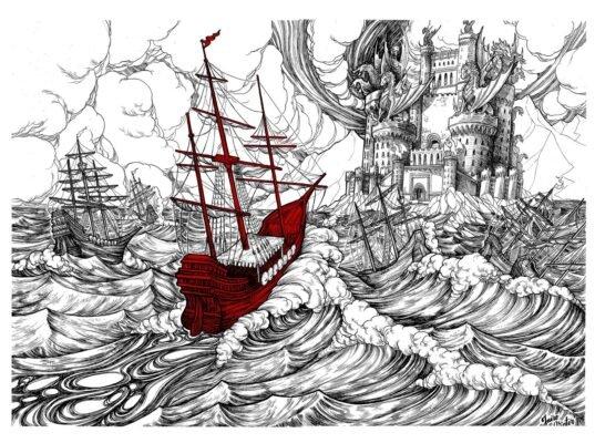 Дейнерис родилась во время шторма, погубившего остатки флота Таргариенов