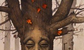 Сердце-дерево в Королевской Гавани (лики выреза́ли не только на белоствольных чардревах)