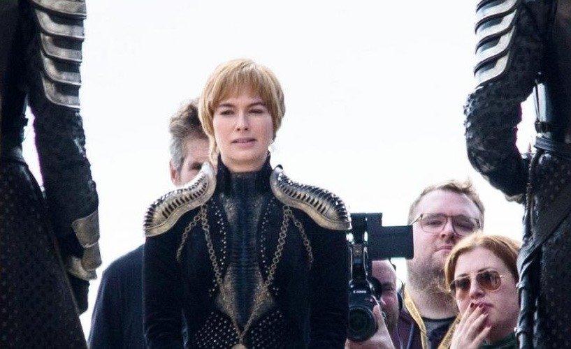 В новом костюме Серсеи чуть больше золота Ланнистеров