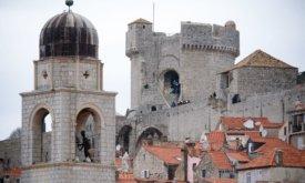 Съемки в башне Минчета, Хорватия, 7 февраля