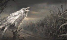 Ожившая ворона