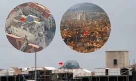 Декорации с куполом и на вставках — купол церкви Святого Влаха в реальности и в 7-м сезона