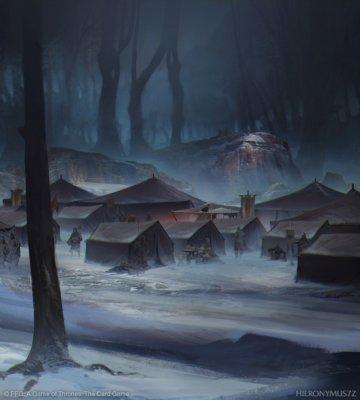 Лагерь Станниса в Волчьем лесу