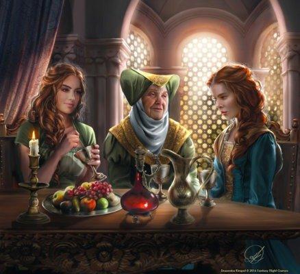 Маргери, Оленна и Санса