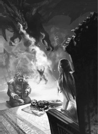 Дейнерис приносят останки убитого Дрогоном ребенка