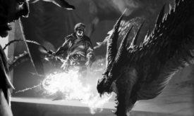 Квентин Мартелл приручает дракона