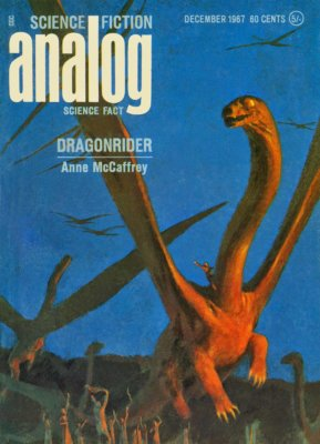 Иллюстрация обложки к рассказу Энн Маккефри