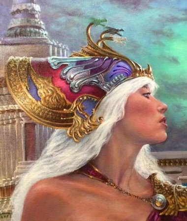 Иллюстрация Ричард Хескокс к иллюстрированной «Битве королей»