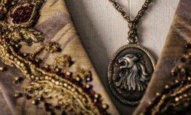Кулон со львом Ланнистеров (свадебный образ Сансы)