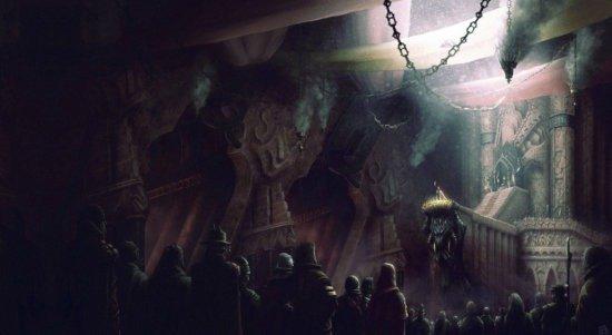 Двор Желтого императора в Каркосе