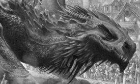 Один из драконов Таргариенов