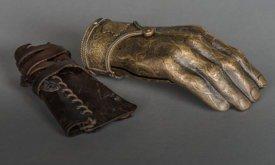 Накладная золотая рука Джейме Ланнистера