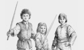 Джейкерис, Джоффри и Люцерис — дети Рейниры Таргариены