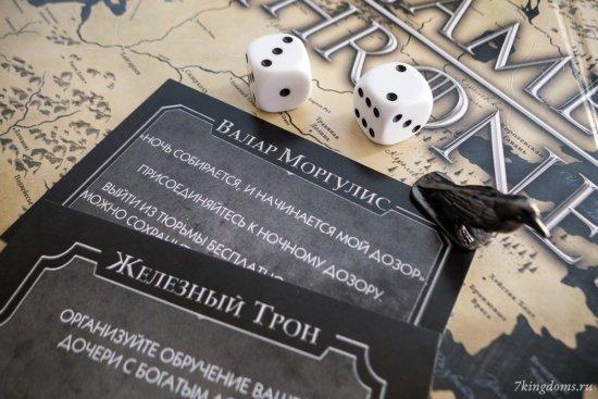 Примеры карточек действий