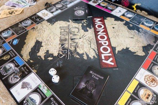 «Монополия: Игра престолов» — игровое поле