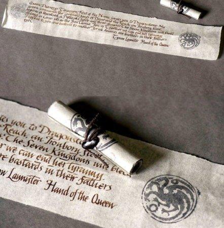 Исправленная версия дракона Таргариенов на печатях