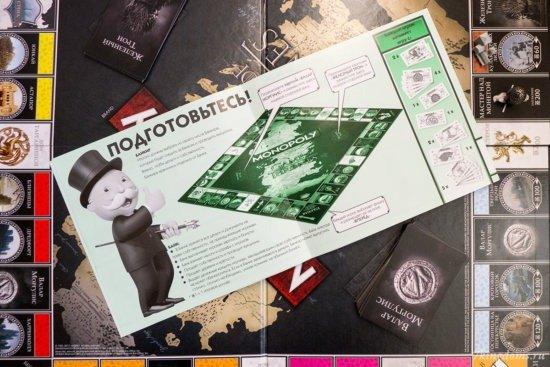 Правила издания выглядят в духе правил прочих «Монополий», но описания соответствуют переименованию объектов в игре.