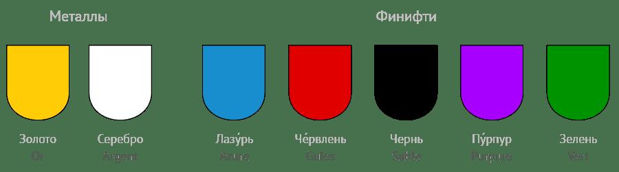 Геральдические цвета