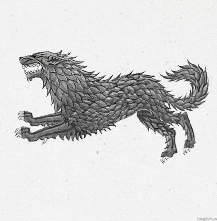 Герб Старков, исправленный по описанию в книгах