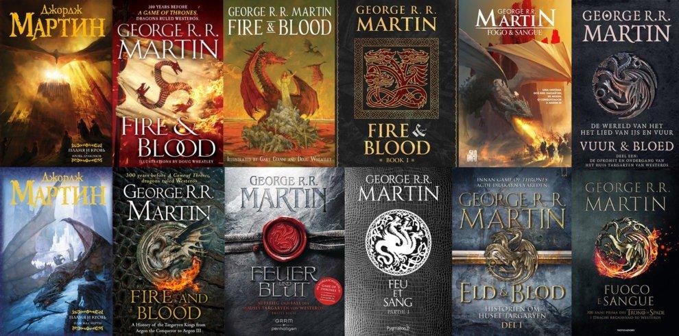 Пламя и кровь — обложки в разных странах