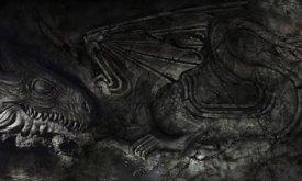 Оформление стен в зале Расписного стола в Драконьем Камне