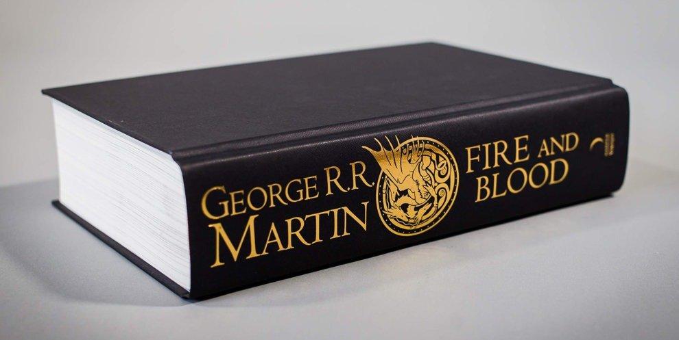 Британское издание «Пламени и крови»